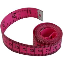 1 Mètre Ruban de Couturière 150 cm Coloris Rose