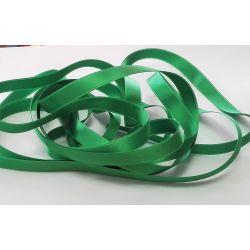Ruban Satin Luxe Largeur 10 mm double face Coloris Vert Printemps longueur 3 mètres