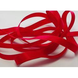 Ruban Satin Luxe Largeur 10 mm double face Coloris Rouge longueur 3 mètres