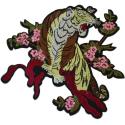 Ecusson Thermocollant Tête de Cheval Taille XXL 19 x 14 cm