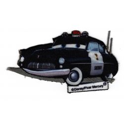Ecusson thermocollant Sheriff Cars 5 x 8,50 cm