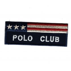 Ecusson Thermocollant POLO CLUB Coloris Marine