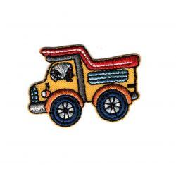 Patch Ecusson Thermocollant Transport Bus Scolaire 2,50 x 5 cm