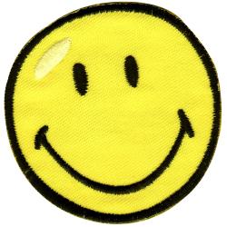 Patch Ecusson Thermocollant SMILE SMILEY 6,50 x 6,50 cm