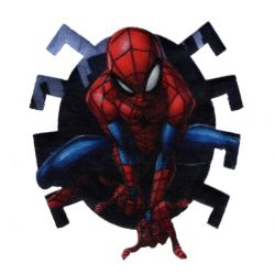 Patch Ecusson Thermocollant Spider Man 6 x 7 cm