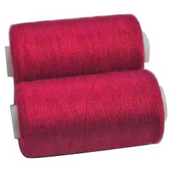 2 Bobines 500 mètres Polyester Coloris Rose Fuschia fil à coudre