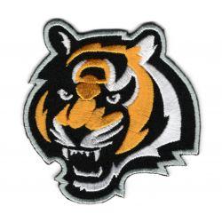 Patch Ecusson Thermocollant Tête de Tigre 6 x 6,50 cm