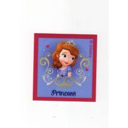 Patch Ecusson Thermocollant Princesse Sofia 6 x 6,50 cm Princess