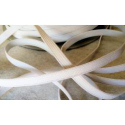 Elastique Plat 7 mm Coloris Blanc 5 METRES