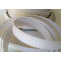 Elastique Plat 15 mm Coloris Blanc 3 METRES