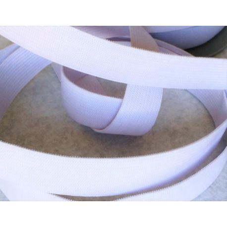 Elastique Plat 20 mm Coloris Blanc 3 METRES