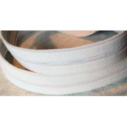 Elastique BOUTONNIERE 20 mm Coloris Blanc 3 METRES