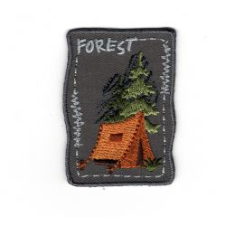 Patch Ecusson Thermocollant Nature Forest 3,50 x 5 cm
