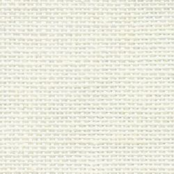 Coupon TOILE de LIN 12 FILS Coloris BLANC Naturel 6 Points au cm 34 x 49 cm