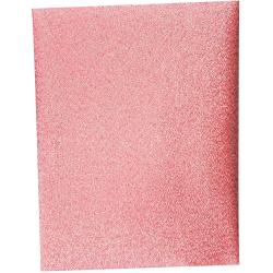 Toile Thermocollante LAMEE Brillante Coloris Rose 12 x 30 cm