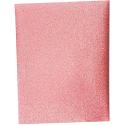 Toile Thermocollante LAMEE Brillante Coloris Rose 12 x 30 cm