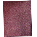 Toile Thermocollante LAMEE Brillante Coloris Marron Bronze 12 x 30 cm