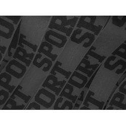 Elastique Sport 32 mm Coloris Gris 2 METRES