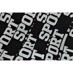 Elastique Sport 32 mm Coloris Noir 2 METRES
