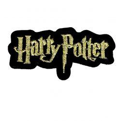 Patch Ecusson Thermocollant Harry Potter Titre 3,50 x 7 cm