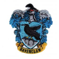 Patch Ecusson Thermocollant Harry Potter Blason Serdaigle Ravenclaw 6,50 x 7,50 cm