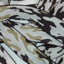 Elastique Militaire Camouflage 38 mm Coloris Marron Beige 2 METRES