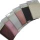 Lot 6 x Toile Thermocollante LAMEE BRILLANTE 6 coloris différents