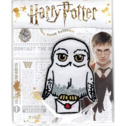 Patch Ecusson Thermocollant Edwige la Chouette Harry Potter 4,50 x 6 cm