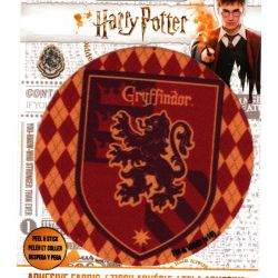Patch Ecusson Thermocollant Harry Potter Blason Gryffondor Gryffindor 7,50 x 7,50 cm