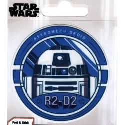 Patch Ecusson Thermocollant Star Wars R2 D2 7,50 x 7,50 cm