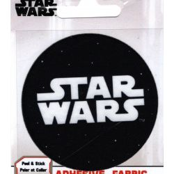 Patch Ecusson Thermocollant Logo Star Wars 7,50 x 7,50 cm