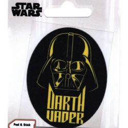 Patch Ecusson Thermocollant Dark Vador Star Wars 6 x 7,50 cm
