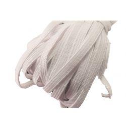 Elastique masque 5 mm coloris blanc 20 mètres