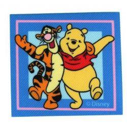 Patch Ecusson Thermocollant Winnie et Tigrou 6,50 x 7,50 cm