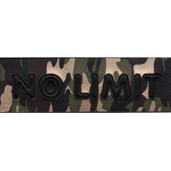 Patch Ecusson Thermocollant Militaire No limit XXL Coloris au choix 6,50 x 21 cm