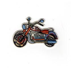 Patch Ecusson Thermocollant Moto vintage 3,50 x 5,50 cm