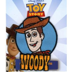 Patch Ecusson Thermocollant Woody le cowboy Toy Story 6 x 7,50 cm