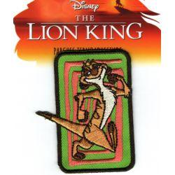 Patch Ecusson Thermocollant Timon Le Roi Lion 5 x 6,50 cm