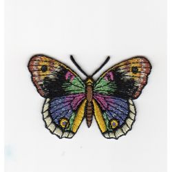 Ecusson Thermocollant PAPILLON C Coloris Noir