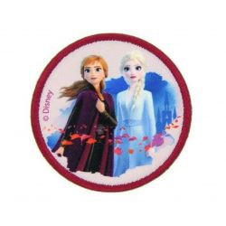 Patch Ecusson Thermocollant Elsa et Anna La Reine des neiges 6,50 x 6,50 cm
