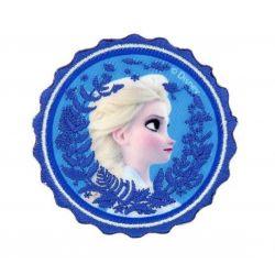 Patch Ecusson Thermocollant Elsa La Reine des neiges 6 x 6 cm