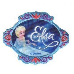 Patch Ecusson Thermocollant Elsa La Reine des neiges 6 x 8 cm