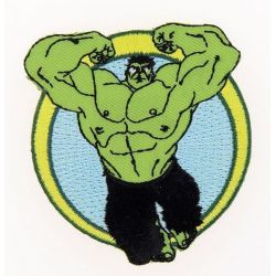 Patch Ecusson Thermocollant Hulk Avengers 6,50 x 7 cm