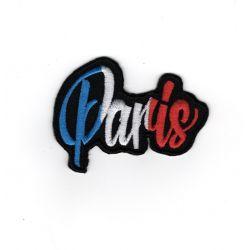 Patch Ecusson Thermocollant Paris bleu blanc rouge 4,50 x 6 cm