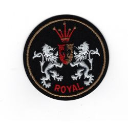 Patch Ecusson Thermocollant Royal club Lion 5 x 5 cm