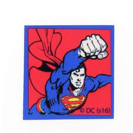Patch Ecusson Thermocollant Superman 5,50 x 5,50 cm