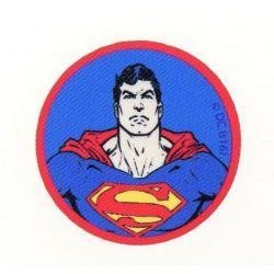 Patch Ecusson Thermocollant Superman 6 x 6 cm