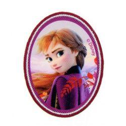 Patch Ecusson Thermocollant Anna Reine des neiges 5 x 7 cm