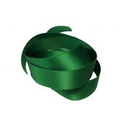 Ruban Satin Double Face 25 mm Coloris vert longueur 6 Mètres
