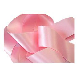 Ruban Satin Double Face 25 mm Coloris rose clair longueur 6 Mètres